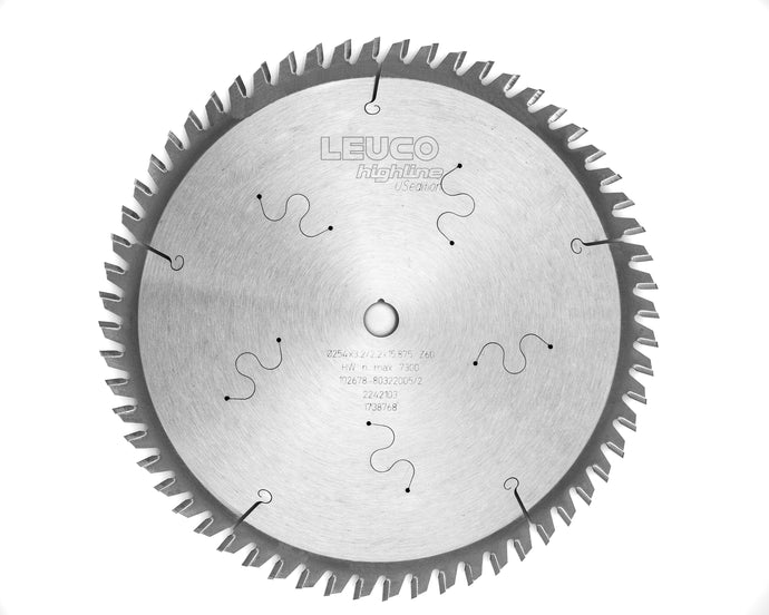 Revitalized Carbide tipped saw blade program with inch size bores