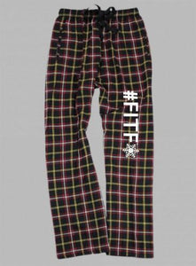 Flannel Pants -Youth- INSIDE OUT with White #FITF