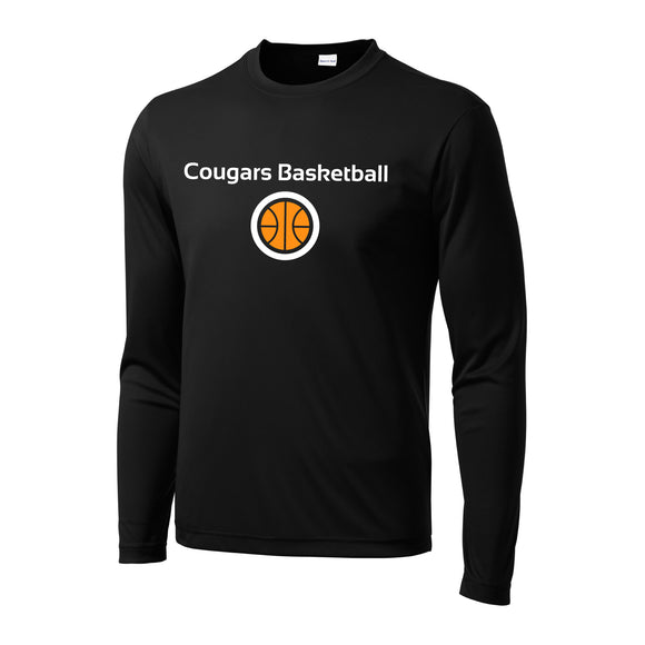 Cougars Basketball Performance Longsleeve