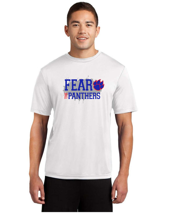 Fear the Panther Poly Tee