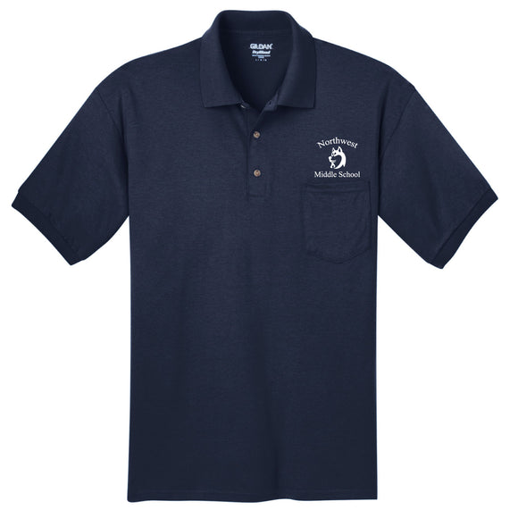 NWMS Staff Pocket Polo