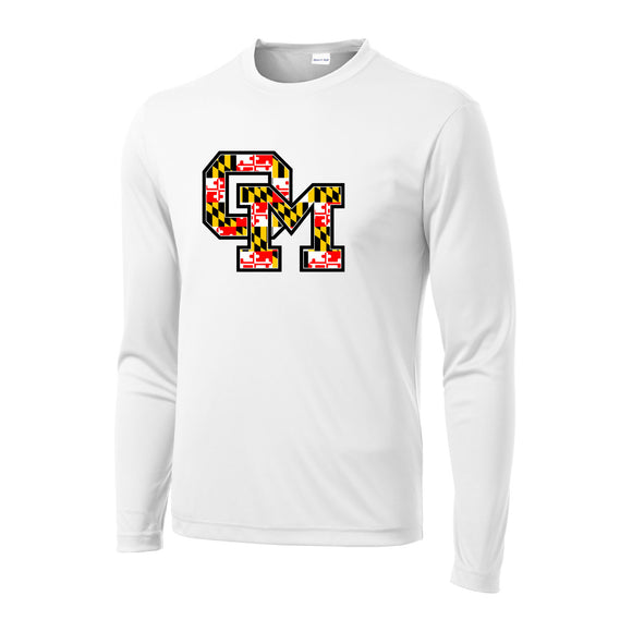 Owings Mills Maryland Performance Long Sleeve