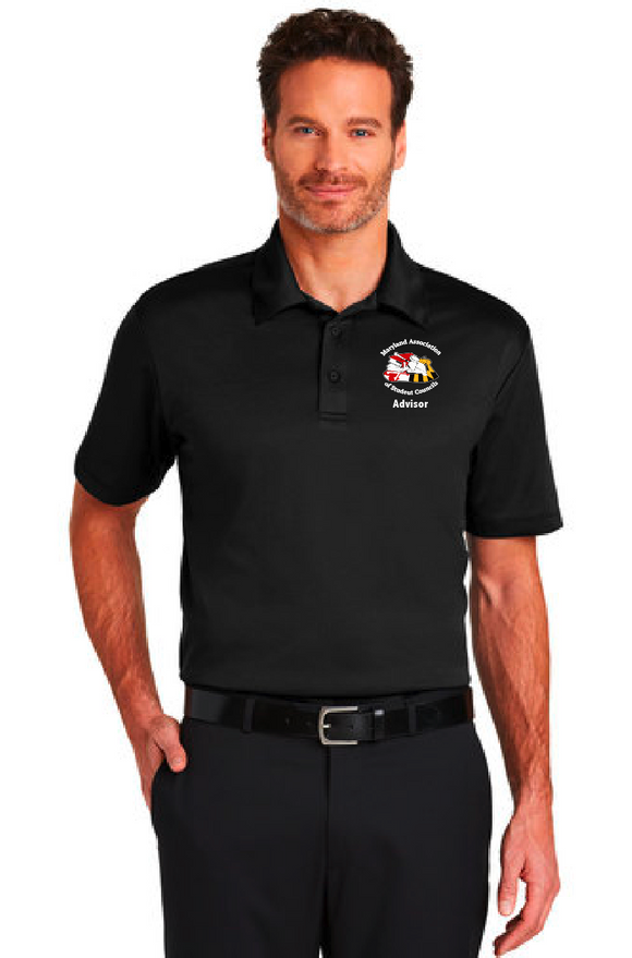 MASC Advisor Polyester Short Sleeve Polo