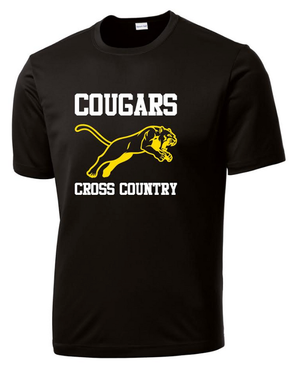 Cougars Cross Country Performance T-Shirt