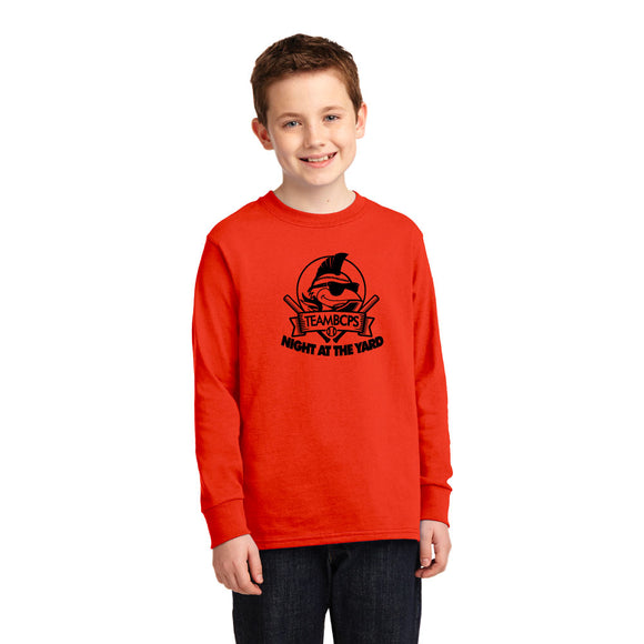 Youth Night at the Yard Standard-Longsleeve Tee