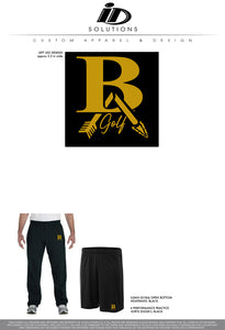 BROKEN ARROW HS GOLF PANTS SHORTS 19
