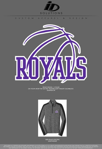 CCS YOUTH BASKETBALL QUARTER ZIP 19