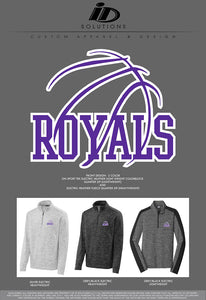 CCS ADULT BASKETBALL QUARTER ZIP 19