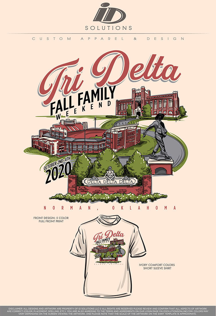 OU DDD FAMILY WEEKEND 20-IN STOCK