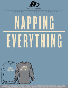 SW-NAPPING OVER EVERYTHING SWEATSHIRT