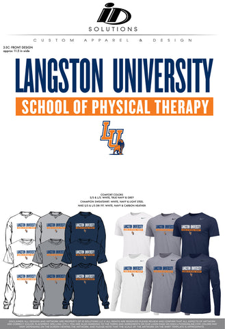 LU PHYSICAL THERAPY FALL PR 19