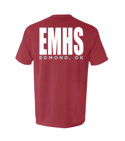 405-EMHS Comfort Colors Pocket Short Sleeve