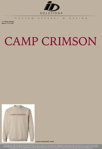 OU CAMP CRIMSON SWEATSHIRT 19