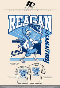 REAGAN ELEMENTARY YOUTH PR SHIRTS 20