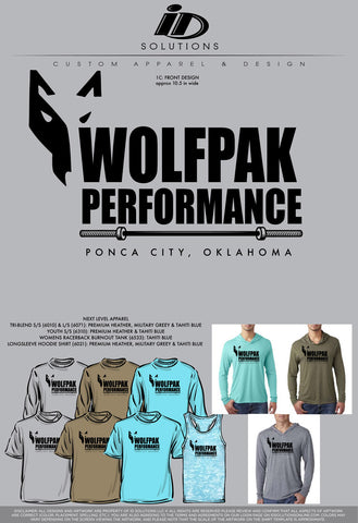 WOLFPAK PERFORMANCE FALL PR BARBELL 20