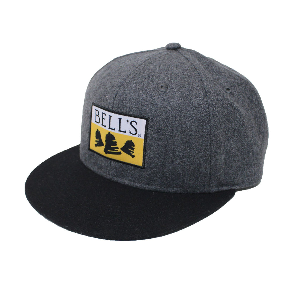 Bell s Wool Flat-Brim Hat – Bell s General Store Online 3c8c6f4bc5e
