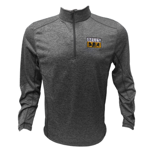 Men's Bell's Quarter Zip Athletic Long Sleeve Shirt
