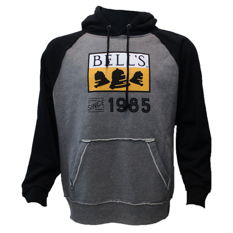 Bell's Brewery Since 1985 Raglan Hooded Sweatshirt