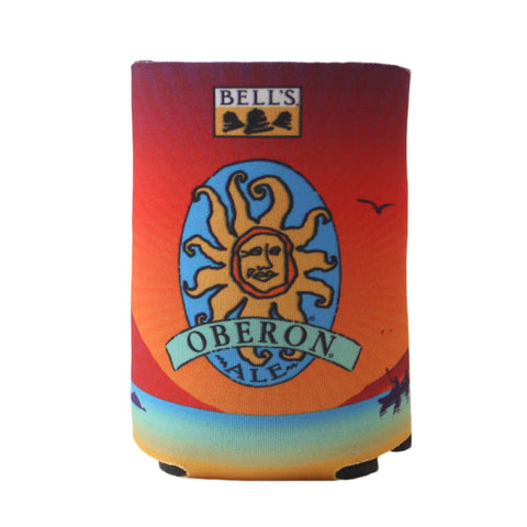 Oberon Ale Can Koozie - 12 oz Lake Scene