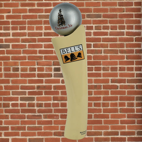 Bells Christmas Ale.Christmas Ale Tap Handle Globe Bell S General Store Online