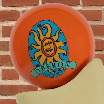Oberon Ale Tap Handle Globe