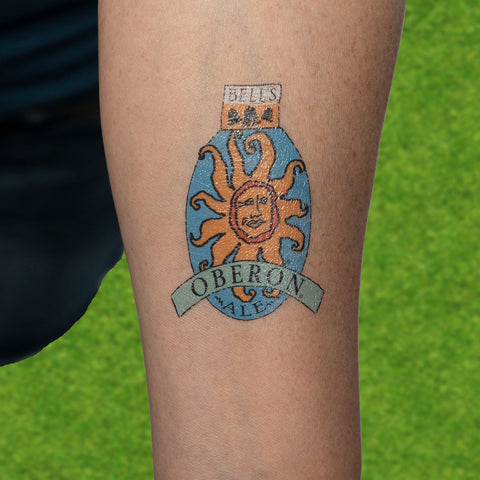 Oberon Ale Temporary Tattoo