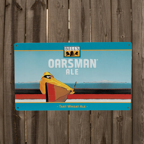 Oarsman Ale Tin Sign