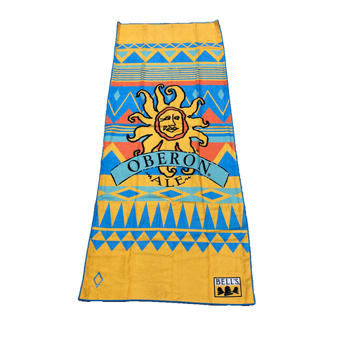 Oberon Recycled Beach Towel