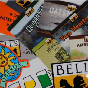 Bell's Brewery Sticker Assortment