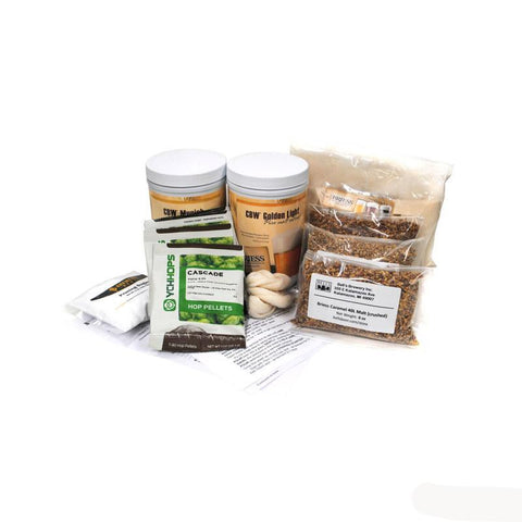 Amber Ale Clone Inspired Homebrewing All-Grain Ingredient Kit