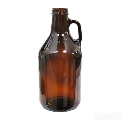 1/4 Gallon Amber Glass Jug