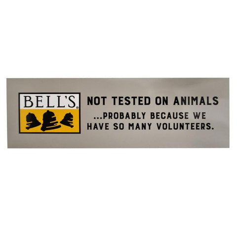 Not Tested On Animals Bumper Sticker