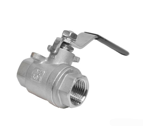 "1/2"" Full Port Stainless Ball Valve"