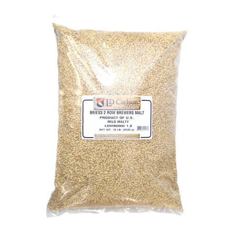 Briess 2-Row Brewer's Malt - 10 lb Bag