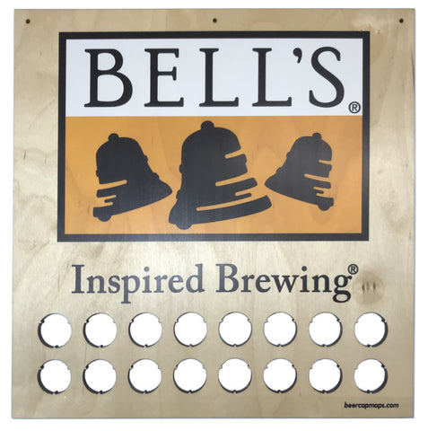 Bell's Inspired Brewing® Beer Cap Sign