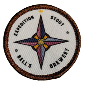 Expedition Stout Woven Iron On Patch