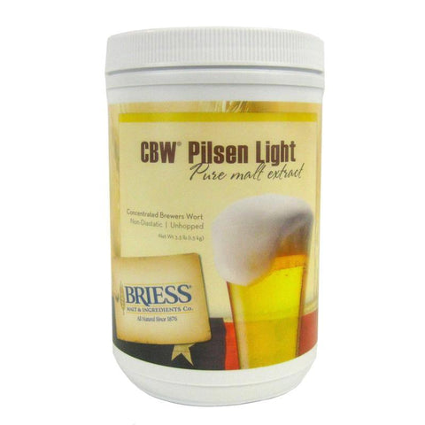 Briess Pilsen Light Liquid Malt Extract (LME) - 3.3 lbs