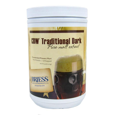 Briess Traditional Dark Liquid Malt Extract (LME) - 3.3 lbs
