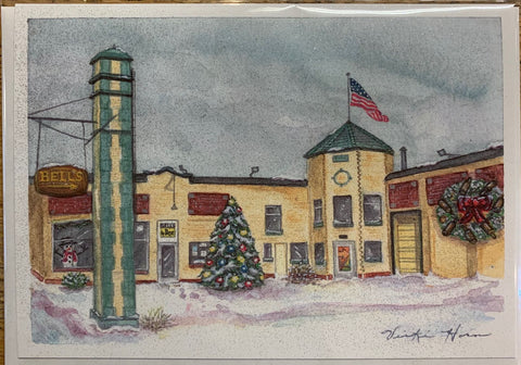 General Store Holiday Greeting Card