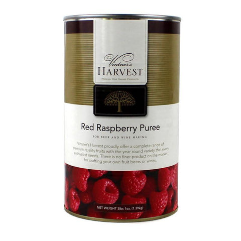 Vintner's Harvest Red Raspberry Puree - 3lbs 1oz