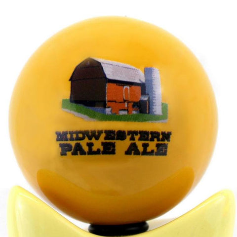 Midwestern Pale Ale Tap Handle Globe