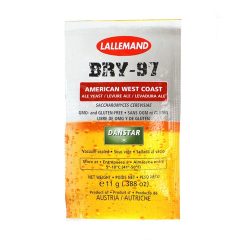 Lallemand Danstar® BRY-97 West Coast Ale Dry Yeast - 11 g