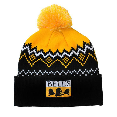 Bell's Inspired Brewing® Custom Knit Beanie w/ Pom