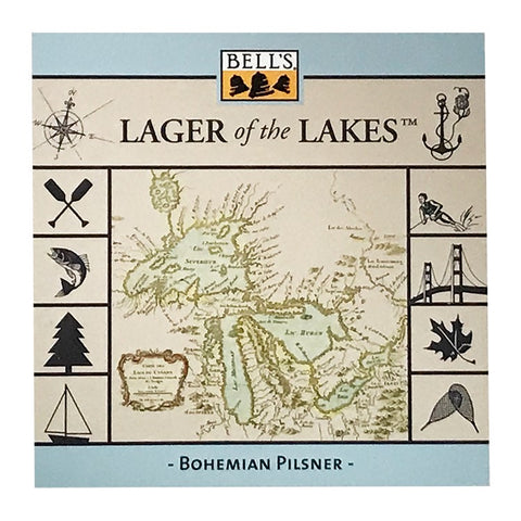 Lager of the Lakes Sticker