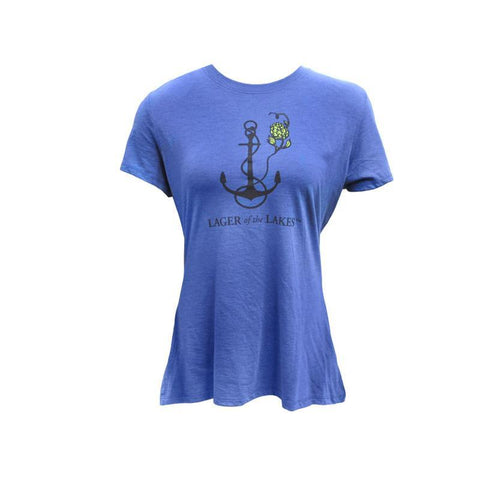 Women's Lager of the Lakes Short Sleeve T-shirt - Slate