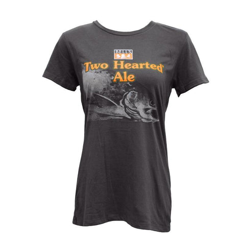 Women's Two Hearted Ale Short Sleeve T-shirt - Charcoal