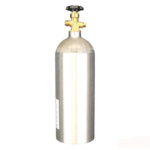 Aluminum CO2 Cylinder - 5 lb Empty (All Safe)