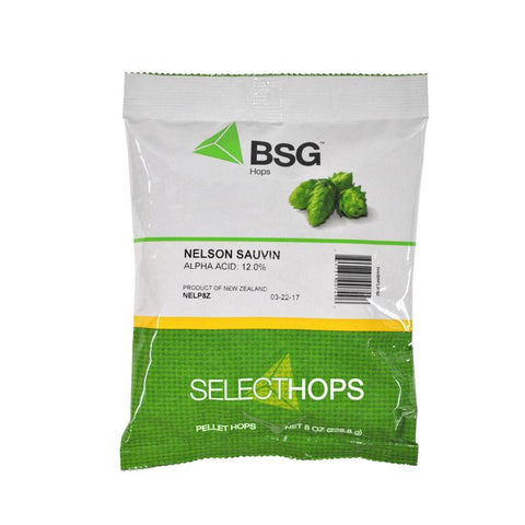 Nelson Sauvin (NZ) Hops - 8 oz Pellets