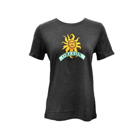 Women's Oberon Ale Short Sleeve Tee - Charcoal