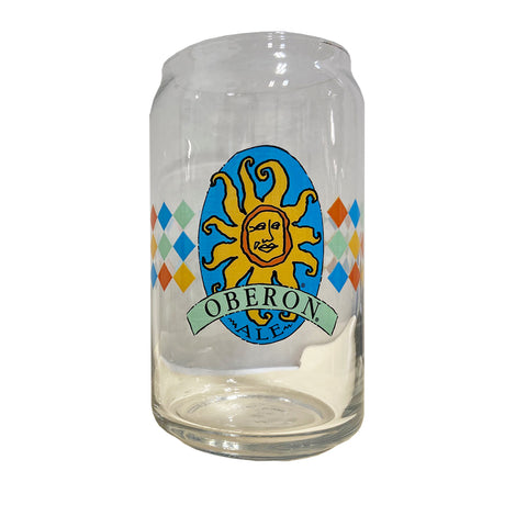 Oberon Diamond Can Glass 16oz